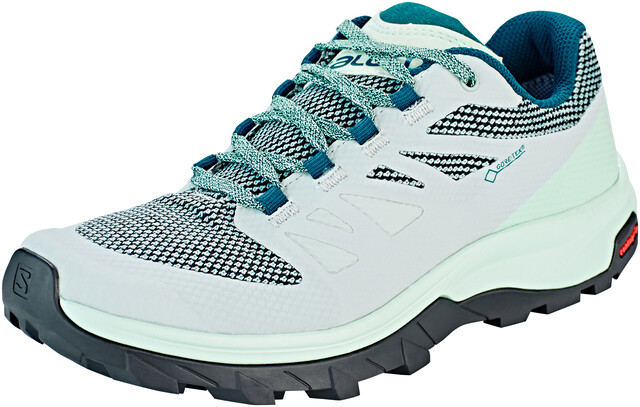 Prezzo basso Salomon OUTLINE Scarpa da hiking turchese
